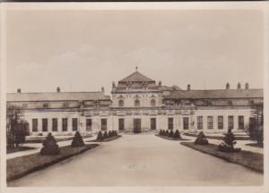 Austria Wien Barockmuseum Unteres Belvedere Gartenseite