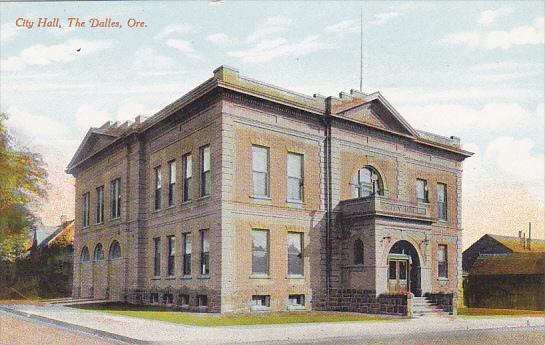 Oregon The Dalles City Hall