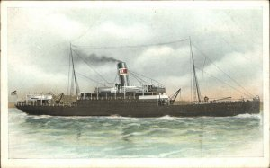 Steamship SS Batavier c1910 Postcard