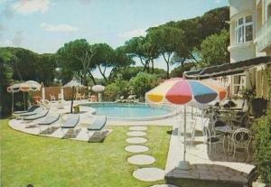 Lennox Club Hotel Portugal Holiday Souvenir Vintage Postcard