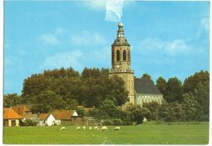 Netherlands, Groeten uit Dronrijp, 1982 used Postcard