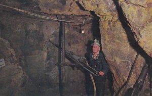 CRIPPLE CREEK, Colorado, 1950-1960s; Mollie Kathileen Mine, Miner