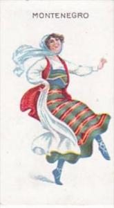 Wills Scissors Cigarette Card Dancing Girls No 16 Montenegro
