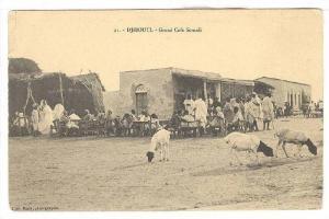 Grand Cafe Somali, Djibouti, Africa, 1900-1910s