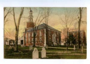 178334 USA ALEXANDRIA cemetery Christ church vintage postcard