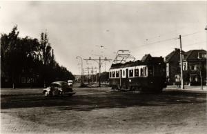 CPA Voorburg, tramlijn N.Z.H. Scheveningen-Voorburg. NETHERLANDS (714182)