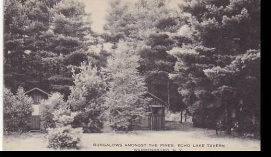 New York Warrensburg Bungalows Amongst The PInes Echo Lake Tavern Artvue