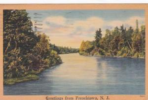 New Jersey Greetings From Frenchtown 1947