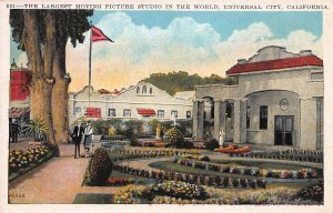 Largest Moving Picture Studio in the World, Univeral City, CA, Early Postcard