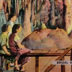 Bridal Altar Great Onyx Cave KY Caufield & Shook Louisville 63591 Vintage