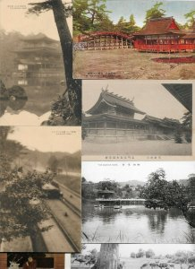 Beautiful Japan Postcard Lot of 20 With Nikko Kyoto And More 01.14
