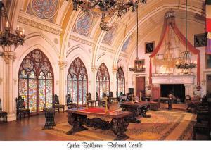 Gothic Ballroom - Belcourt Castle, Newport, Rhode Island