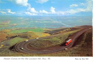 Hairpin Curves - Old Lewiston Hill, Idaho