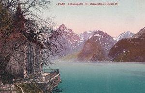 Tellskapelle Urirotstock Switzerland Old Postcard