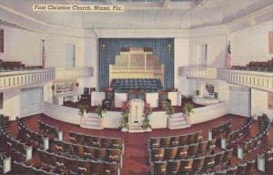 Florida Miami First Christian Church
