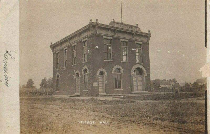 RP: LANSING , Illinois, 1908 ; Village Hall