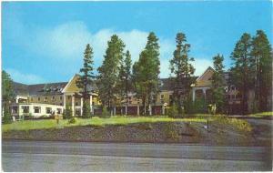 Lake Hotel Yellowstone National Park Wyoming WY 1965
