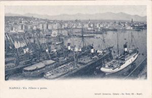 NAPOLI, Campania, Italy; Via Piliero e porto, 00-10s