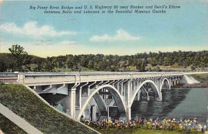Missouri  Big Piney River Bridge