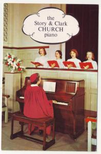 P77 JLs postcard only piano ever designed for churches