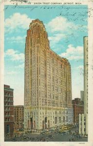 Union Trust Company Detroit Michigan United States