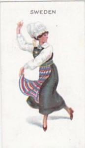 Wills Scissors Cigarette Card Dancing Girls No 25 Sweden