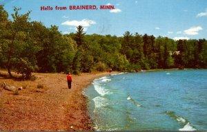 Minnesota Hello From Brainerd 1972