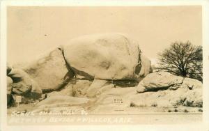 Benson Wilcox Arizona Highway 86 1940s RPPC Photo Postcard 3443