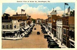 ME - Skowhegan. Water Street