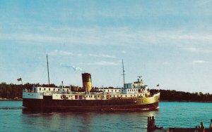 MANITOULIN ISLAND , Ontario , 1950-60s ; S.S.NORISLE