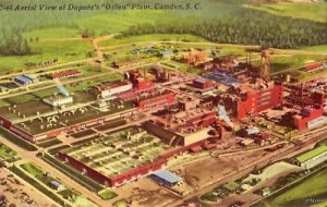 CAMDEN, SC AERIAL VIEW DUPONT'S ORLON PLANT