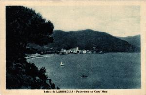 CPA Saluti da LAIGUEGLIA Panorama da Capo Mele. ITALY (506645)