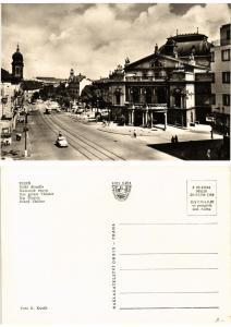 CPM AK Czechoslovakia - Plzen - Big Theatre (693704)