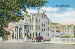 Hotel Mayflower at Hyannis MA, Massachusetts - Linen