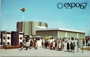 Expo 67 Montreal Quebec Canadian Pacific Cominco Pavillion Postcard F17