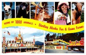 11437  NY  Lake Placid  Sterling Alaska Fur & Game Farms  multi-view