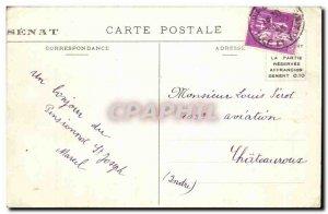 Old Postcard Lion Luxembourg Garden Paris