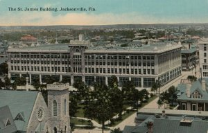 JACKSONVILLE , Florida , 1900-10s ; St James Building