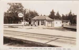 RP: SIMCOE , Ontario , Canada , 30-40s ; IMPERIAL Gas Station