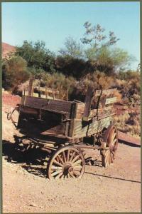 Old Wagon True Symbol Of Westward Migration Barstow California