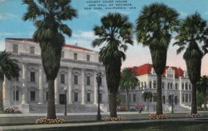 SAN JOSE, California; 1930-40s; County Court House & Hall of Records