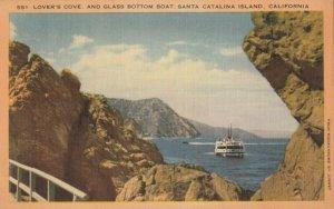 CATALINA ISLAND , California, 1930-40s ; Lovers Cove