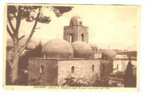 Chiesa S. Giovanni Degli Eremiti Costruita Nel 1132, Palermo (Sicily), Italy,...