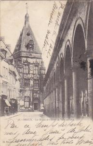 France Dreux Les Halles et l'Hotel de Ville en 1873  1903