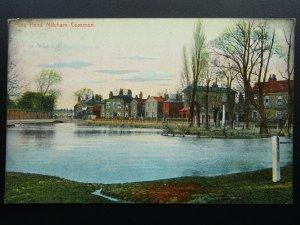 London Merton MITCHAM COMMON The Pond c1906 Postcard by Field's Series
