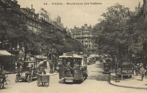 CPA Paris 2e (Dep. 75) Boulevard des Italiens (81168)