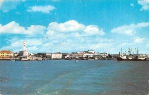 Penang Harbour Penang Malaysia 1961