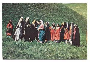 Nangarhari Nomad Children Afghanistan Vintage Postcard 4X6