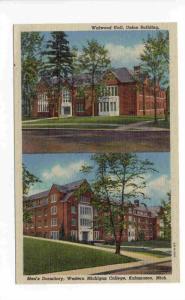 Walwood Hall, Union Building, Men's Dormitory, Western Michigan College, Kala...