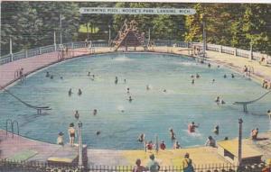 Michigan Lansing Swimming Pool Moore's Park